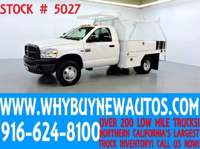 2007 Dodge Ram 3500 ~ 9ft Contractor Bed ~ 5.7L HEMI ~ Only 12K Miles! Rocklin CA