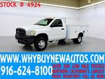 2008 Dodge Ram 3500 ~ 4x4 ~ Dually ~ Utility ~ Only 45K Miles!