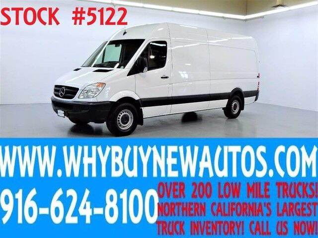 2012 Mercedes-Benz Sprinter 2500 ~ High Roof ~ Ext. Length Cargo Van ~ Diesel ~ Only 72K Miles! Rocklin CA