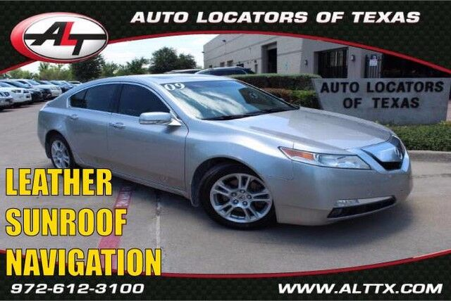 2009 Acura TL Tech with NAVIGATION Plano TX