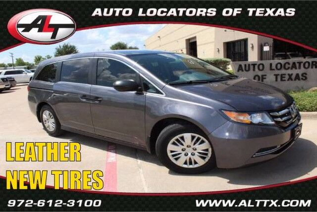 2015 Honda Odyssey LX with LEATHER Plano TX