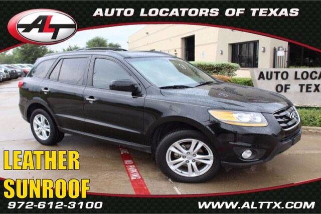 2010 Hyundai Santa Fe Limited with NAVIGATION Plano TX