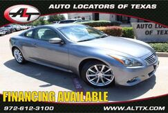 2011 INFINITI G37 Coupe Journey Plano TX