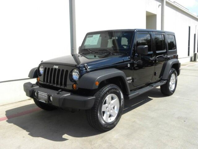 2013 Jeep Wrangler Unlimited Sport Bedford Tx 15238785