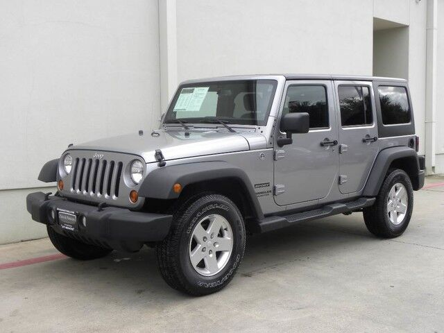2013 Jeep Wrangler Unlimited Sport Bedford Tx 15545965