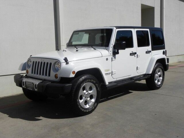 2013 Jeep Wrangler Unlimited Sahara Bedford Tx 15454895