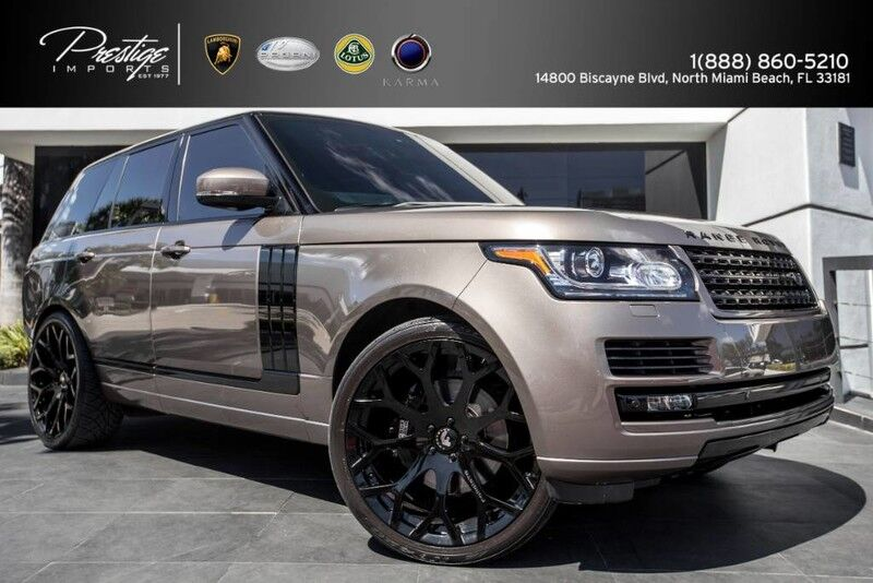 2015 Land Rover Range Rover Supercharged North Miami Beach FL
