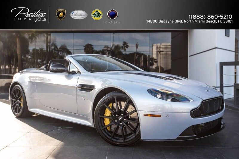 2015 Aston Martin V12 Vantage S North Miami Beach FL