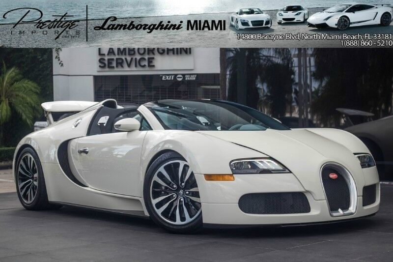 2011 Bugatti Veyron Grand Sport North Miami Beach FL