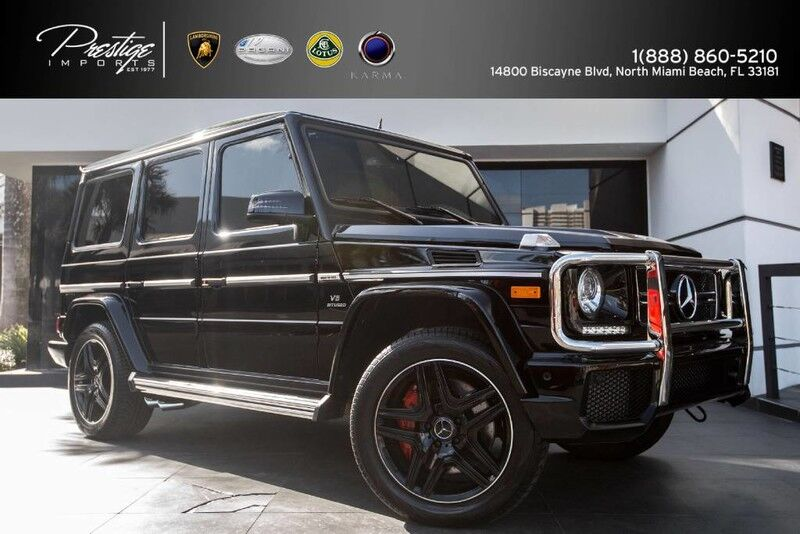 2016 Mercedes-Benz G 63 AMG North Miami Beach FL