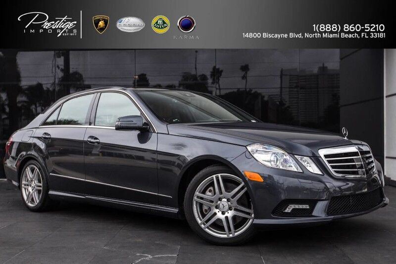 2010 Mercedes-Benz E 550 Sport North Miami Beach FL