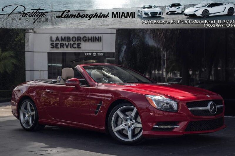 2014 Mercedes Benz Sl 550 North Miami Beach Fl 15080748