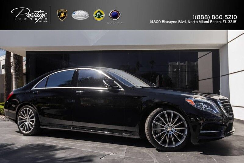 2016 Mercedes-Benz S 550 North Miami Beach FL