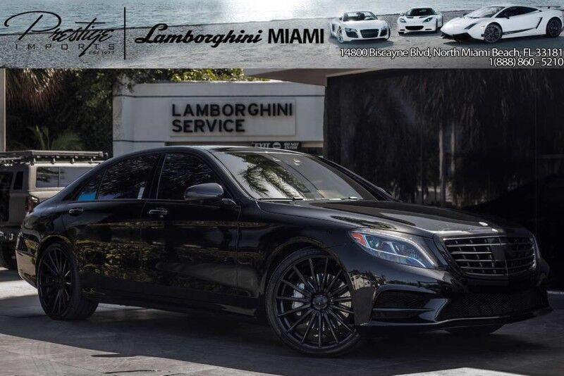 2015 Mercedes-Benz S-Class S550 North Miami Beach FL