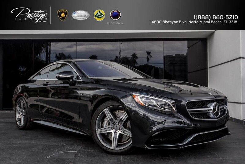 2015 Mercedes-Benz S 63 AMG North Miami Beach FL