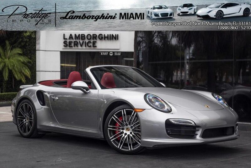 2015 Porsche 911 Turbo North Miami Beach FL