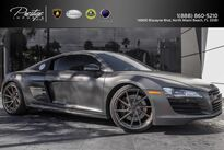 Audi R8 V8 4.2L Matte Gray Manual Transmission 2009