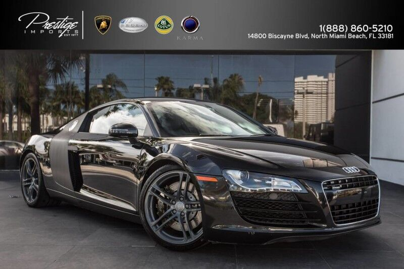 2009 audi r8 v8 4 2l manual transmission north miami beach. Black Bedroom Furniture Sets. Home Design Ideas