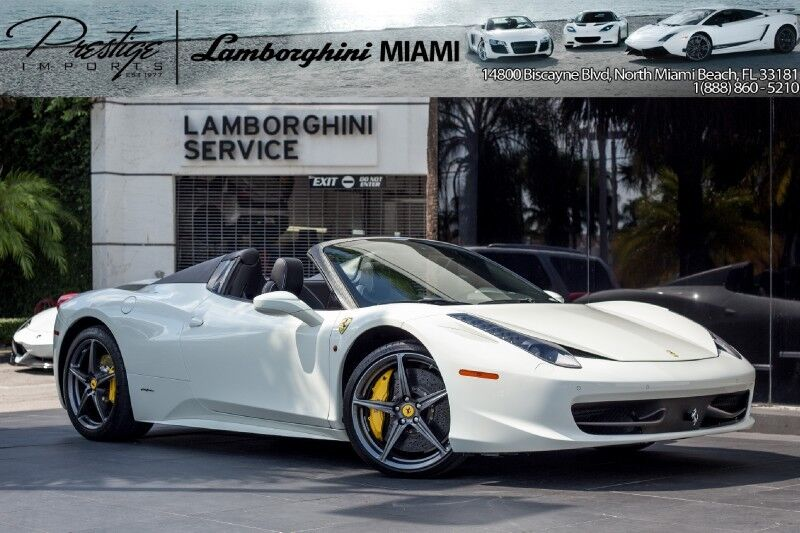 2013 Ferrari 458 Italia Spider North Miami Beach FL
