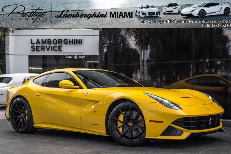2014 Ferrari F12 Berlinetta  North Miami Beach FL