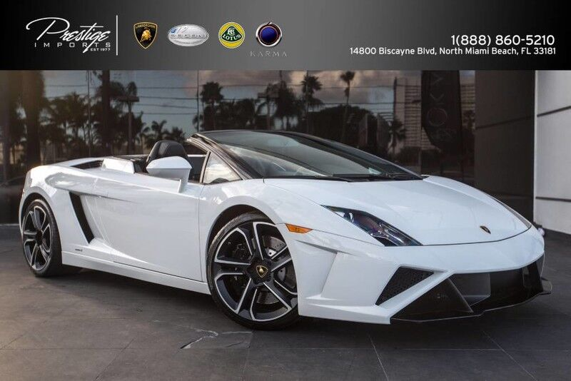 2014 Lamborghini Gallardo Spyder  North Miami Beach FL