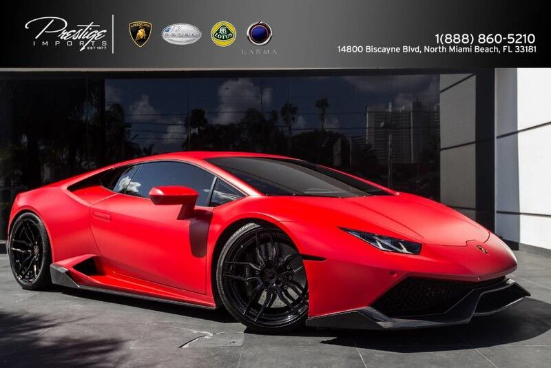 2015 Lamborghini Huracan  North Miami Beach FL