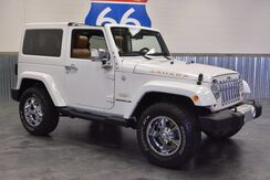 2012 Jeep Wrangler SAHARA EDT. 'PAINTED TO MATCH TOP' LEATHER! NAVIGATION! LOW MILES! Norman OK