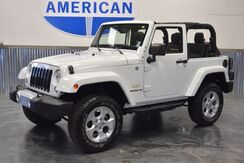 2014 Jeep Wrangler PAINTED TO MATCH HARD TOP! SMALL LIFT! NAVIGATION! LOW MILES!!! Norman OK