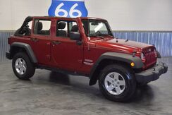 2012 Jeep Wrangler Unlimited UNLIMITED WRANGLER! HARD TOP! 4WD! DRIVES LIKE BRAND NEW!!! Norman OK