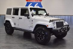 2014 Jeep Wrangler Unlimited $6000 IN EXTRAS! WHEELS/BUMPERS! LEATHER NAVI! PAINTED TO MATCH TOP! LOW MILES! Norman OK