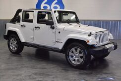 2012 Jeep Wrangler Unlimited SAHARA - 4WD! LEATHER LOADED! NAVIGATION! HARD TOP! Norman OK