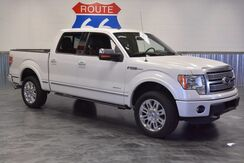 2012 Ford F-150 PLATINUM - 4X4! LEATHER! SUNROOF! NAVIGATION! PRICED AT A STEAL! Norman OK