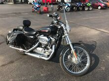 2010 Harley-Davidson Sportster 1200 XL1200C 'RIDES GREAT!' TONS OF EXTRAS!!!! SADDLE BAGS! WINDSHIELD! Norman OK