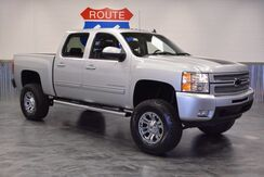 2013 Chevrolet Silverado 1500 4WD! LIFTED! CHROME WHEELS! OFF ROAD TIRES! LTZ LEATHER SUNROOF NAVI! LOW MILES!! Norman OK
