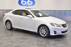 2012 Lexus IS 250 PEARL WHITE! LEATHER SUNROOF! 30+ MPG! LIKE NEW!!! LOW MILES!! Norman OK