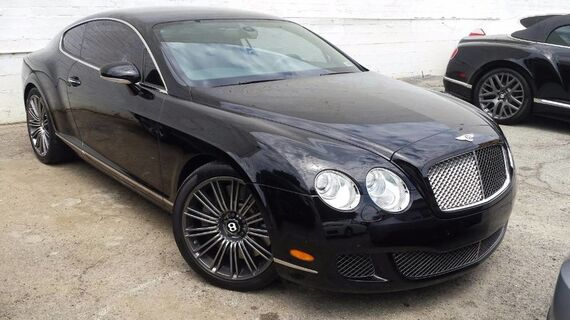 2008 Bentley Continental GT Speed 2dr Coupe Beverly Hills CA
