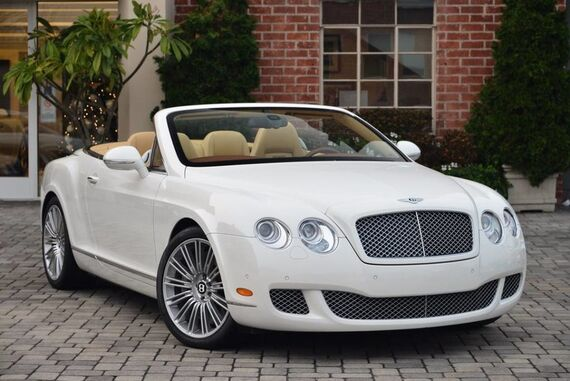 2010 Bentley Continental GT Speed Convertible 2dr Convertible Beverly Hills CA