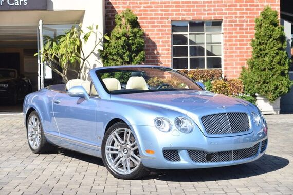 2011 Bentley Continental GT Convertible 2dr Convertible Beverly Hills CA