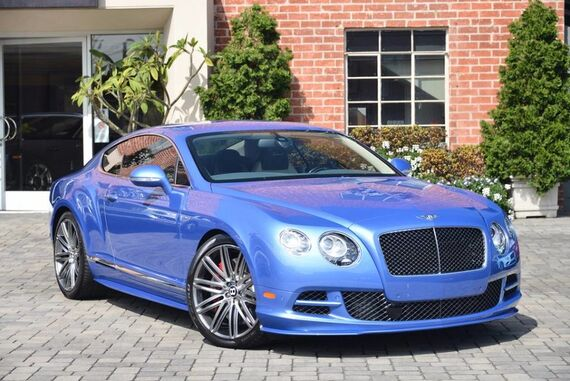 2015 Bentley Continental GT Speed 2dr Coupe Beverly Hills CA