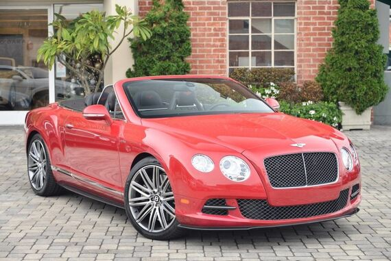 2014 Bentley Continental GT Speed Convertible 2dr Convertible Beverly Hills CA