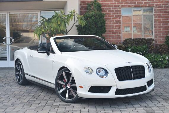 2014 Bentley Continental GT V8 S Convertible 2dr Convertible Beverly Hills CA