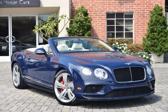 2017 Bentley Continental GT V8 S Convertible 2dr Convertible Beverly Hills CA