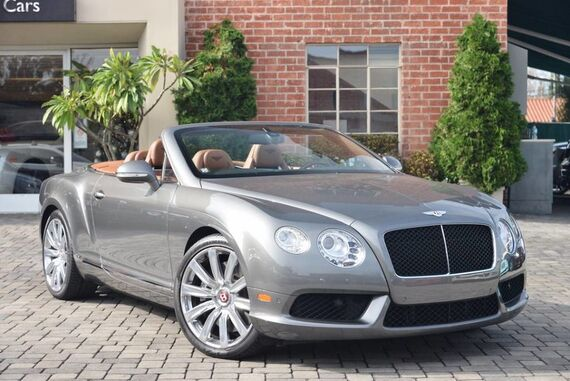 2014 Bentley Continental GT V8 Convertible 2dr Convertible Beverly Hills CA