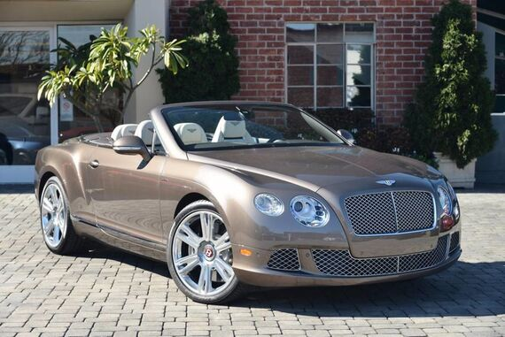 2015 Bentley Continental GT W12 Convertible 2dr Convertible Beverly Hills CA