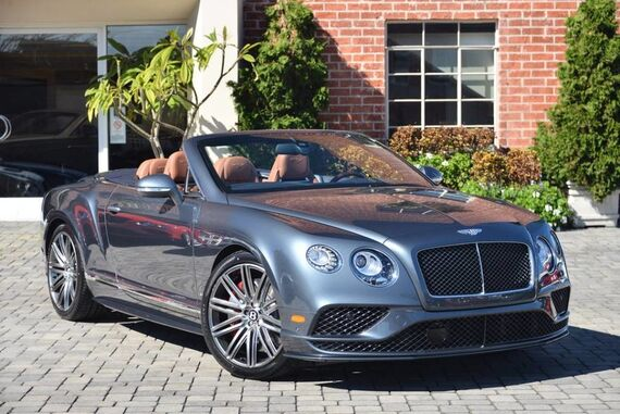 2017 Bentley Continental GT Speed Convertible 2dr Convertible Beverly Hills CA