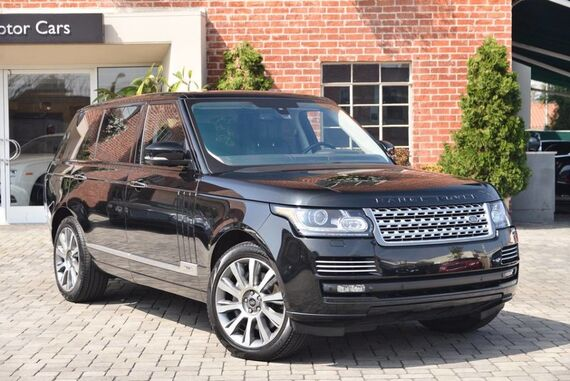 2014 Land Rover Range Rover Supercharged Autobiography Black LWB 4dr SUV Beverly Hills CA