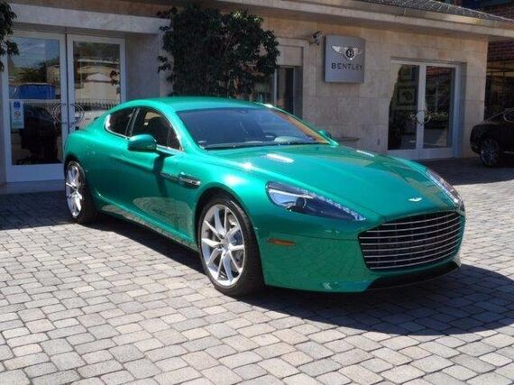 2014 Aston Martin Rapide S  Beverly Hills CA