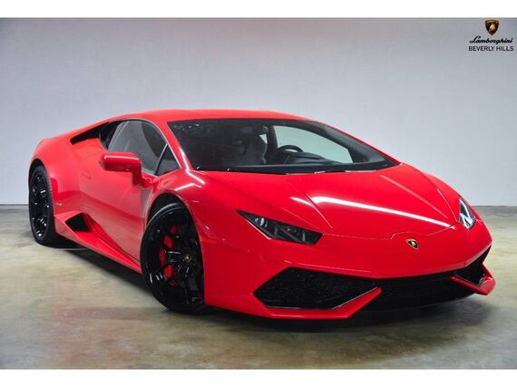2015 Lamborghini Huracan LP610-4 2dr Coupe Beverly Hills CA