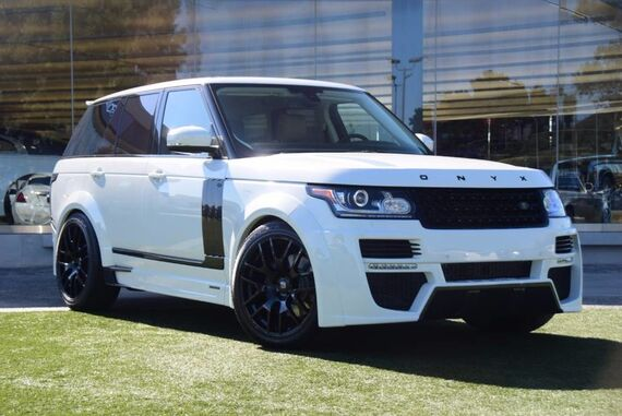 2015 Land Rover Range Rover Supercharged 4dr Sedan Beverly Hills CA