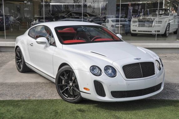 2010 Bentley Continental Supersports 2dr Coupe Beverly Hills CA